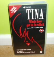 Tina - Whats love got to do with it - True Life Story of Tina Turner - VHS Video