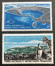 F.A.S.T. TAAF  C13 - C14  Beautiful  Mint  Never  Hinged  Air  Mails  XF  PD m20