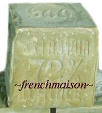 HANDMADE Provence Savon de Marseille OLIVE OIL FRENCH SOAP 600g South of France