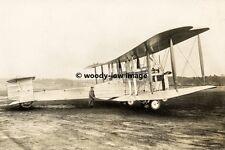 rp01919 - Vickers Vimy Bomber Plane - photo 6x4