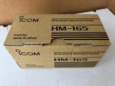 ICOM HM-165 Speaker Mic
