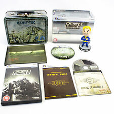 Fallout 3 Collectors Edition for PC by Bethesda, 2008, Vault-Tec, VGC