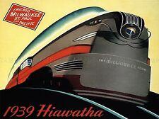 Viaggi Chicago CROSS COUNTRY servizio ferroviario treno Motore Ferrovia USA Stampa lv4361