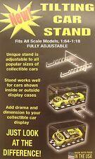 Tilt Display Stands (24) for 1/64 -1/18 Model Cars Trucks - 902-C