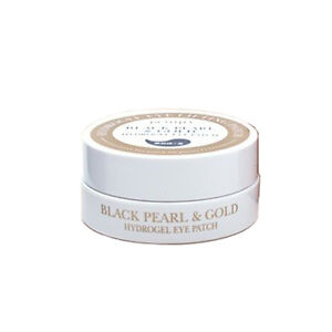 [PETITFEE] Black Pearl & Gold Hydrogel Eye Patch - 60 sheet