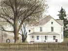Art Print, Framed or Plaque by Billy Jacobs - Grandma's House - BJ108A
