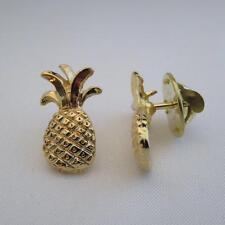 Small Pineapple pin gold finish hospitality pins gift idea lapel pin