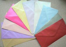 250 Medium 140mm X 140mm Square Lilac Lavender Metallic Pearlescent Envelopes