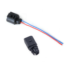 Ambient air temperature sensor 2 Pin Connector Plug Wiring Harness fit for Audi