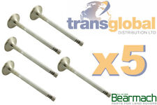 Land Rover Defender & Discovery TD5 Cylinder Head Exhaust Valves x5 - ERR6612