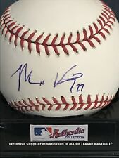 MATT KEMP LOS ANGELES DODGERS  MLB/ UPPER DECK AUTHENTICATED SIGNED OML BASEBALL