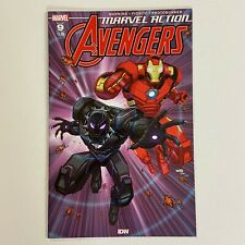 MARVEL ACTION AVENGERS 9 NM 1ST CAMEO APPEARANCE YELLOW HULK (2020, IDW/MARVEL)
