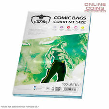 ULTIMATE GUARD Comic Series - CURRENT SIZE Comic Bags x 100
