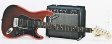 Squier Affinity Strat Pack HSS Guitar w/ Fender Frontman 15G Amp Candy Apple Red