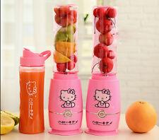 New Mini Cute Hello Kitty Pattern Juicer Smoothie Blender Fruit Vegetable Juicer