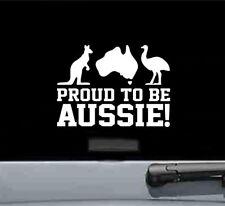 Proud to be Aussie Australia vinyl decal sticker bumper car truck