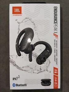 JBL Endurance Peak II Waterproof True Wireless in-Ear Sport Headphones-Black
