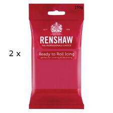 500g Renshaw Ready Roll Icing Fondant Cake Regalice Sugarpaste FUCHSIA PINK