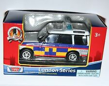 """Motormax - Land Rover Discovery POLICE 'London Series' 4.5"""" Long Model"""