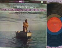 Old man and the sea US Reissue OST LP EX Dimitri Tiomkin Ernest Hemingway
