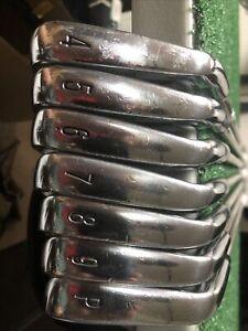 Cleveland 588 CB Forged Irons, 4-PW Graphite Steelfiber I95 Stiff Flex 11178