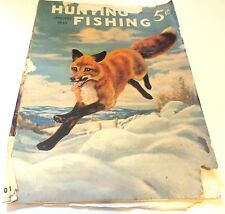 HUNTING and FISHING Magazine  January 1939