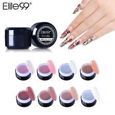 Builder Gel Nail Finger Extension Nail Polish French Gel Soak Off Elite99 UV LED