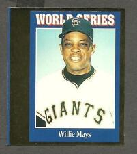 1992 Sports Cards Insert Proof Pair,Giants' Willie Mays