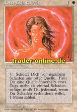 2x Protezione Rosso Cerchio (Circle of Protection: Red) Magic limited black bordered GE