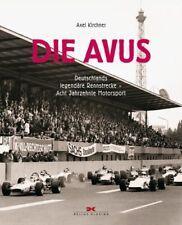 Die Avus Deutschlands legendäre Rennstrecke Acht Jahrzehnte Motorsport Buch book