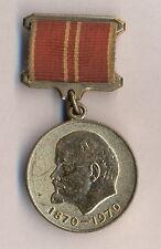Medaille d'anniversaire / 100° anniversaire de la naissance de Lénine / Russie