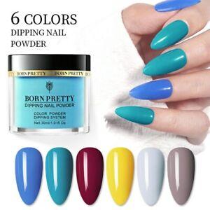 BORN PRETTY 30ml Fast Dry Dipping Powder Nail Art Spring Summer Dip System Salon