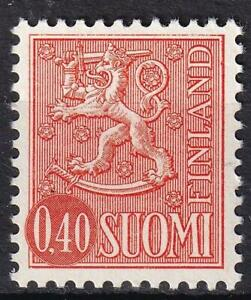 Finland 1973 Arms of Finland 40p orange, MNH sc#462