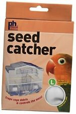 New listing Prevue Pet Products Mesh Bird Seed Catcher Large Assorted Colors