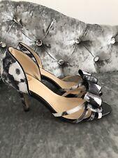Ladies Lotus Hallmark Peep-Toe Bow Shoes Size 3 Wedding Cruise
