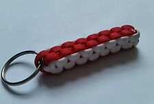 Ducati Racing 998 Monster Penigale Motorcycle Colours Handmade Paracord Keyring
