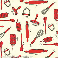 MODA Fabric ~ COW MILK KITCHEN ~  Mary Jane Butters (11614 16) - by the 1/2 yd
