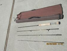 Cabela's Lsf 9019 4 piece 9 foot 10 wt fly rod. With case. Used once.