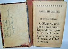 Very old Antique Latin Spiritual Religious Book