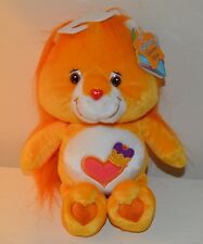 Peluche BISOUNOURS Cousin Lion care Bears COLLECTOR 25cm NEUF 2003 Play Along