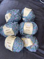 Rowan Yarn Lot Of 6 Shade 344