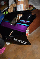 Yamaha fzr 1000 exup fairing panel lower NOS genuine Yamaha.