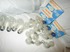 Lot 46 Vintage Flash Bulbs, Ge-Sylvania-Westinghouse Nos