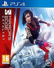 Mirrors Edge Catalyst For PS4 (New & Sealed)