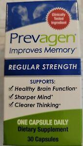 PREVAGEN: REGULAR STRENGTH* IMPROVES MEMORY*(30 10mg CAPSULES) BRAND NEW! SEALED