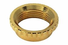 Gold Deep Nut Coarse knurl Switchcraft 3-way toggle switch fits Gibson guitars