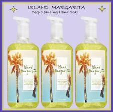 3 Bath & Body Works ISLAND MARGARITA Deep Cleansing Hand Soap LOT SET Fast Ship