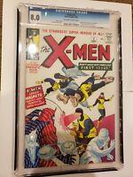 Xmen 1 Custom Made GRADED CASE 8.01965 Reprint Cyclops Beast Professor X REPRINT