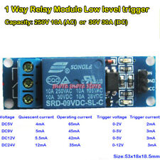 DC 5V 1 Way Relay Trigger Switch Optocoupler Isolation Low Level Expansion Board