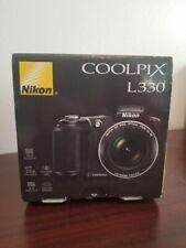 Nikon COOLPIX L330 20.2MP Digital Camera - Black - Includes DVD And Box